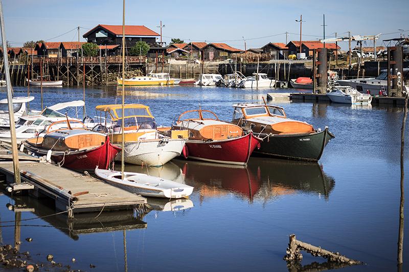 Petit port de Gujan-Mestras, sur le Bassin d'Arcachon - Crédit : David Remazeilles (Gironde Tourisme)