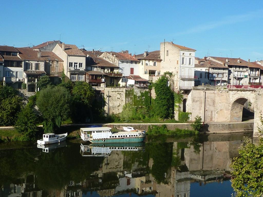 Villeneuve-sur-Lot, bastide de la vallée du Lot - Crédit : CDT Lot-et-Garonne