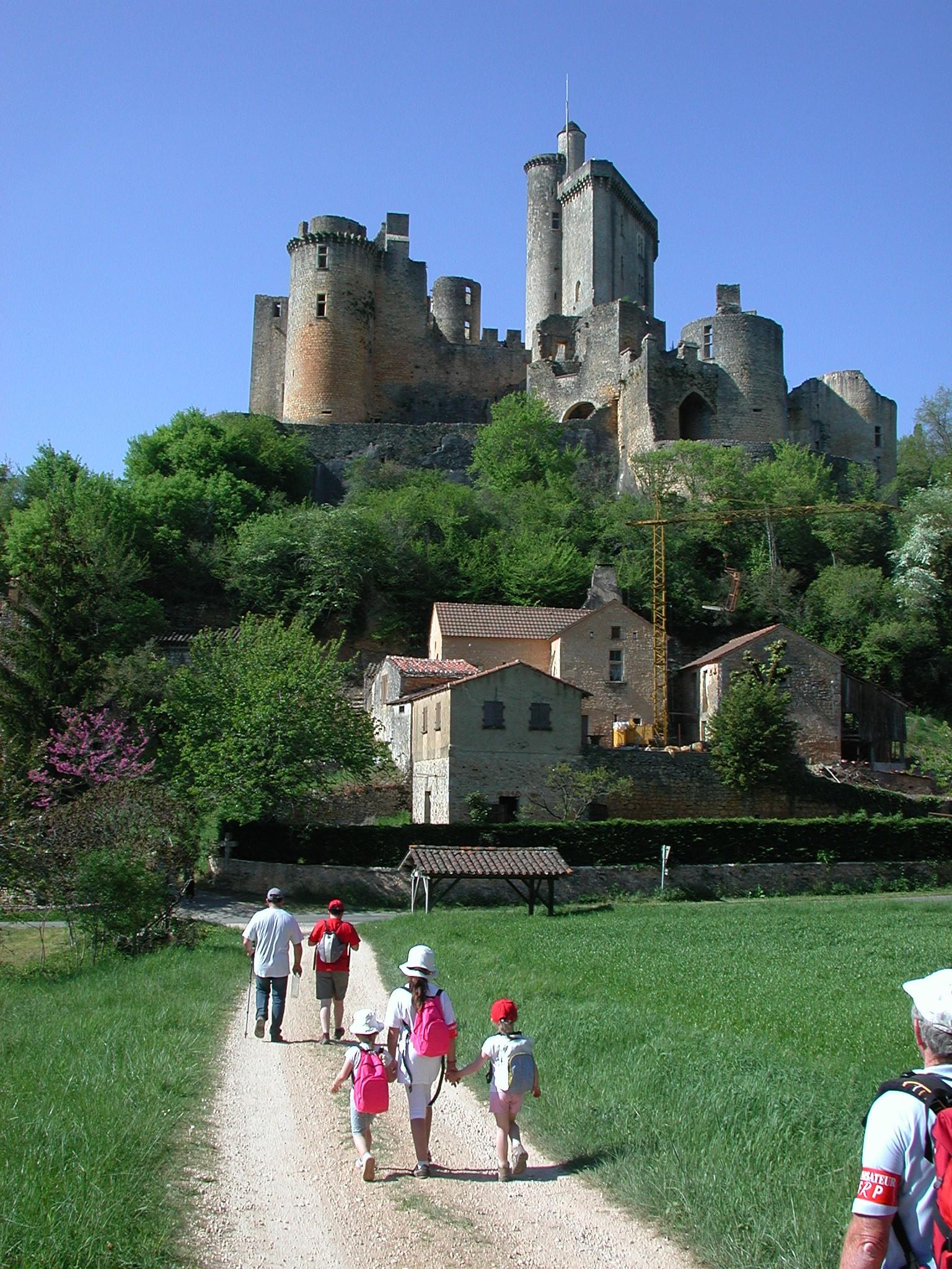 Le Château de Bonaguil, dans le Haut-Agenais - Crédit : CDT Lot-et-Garonne