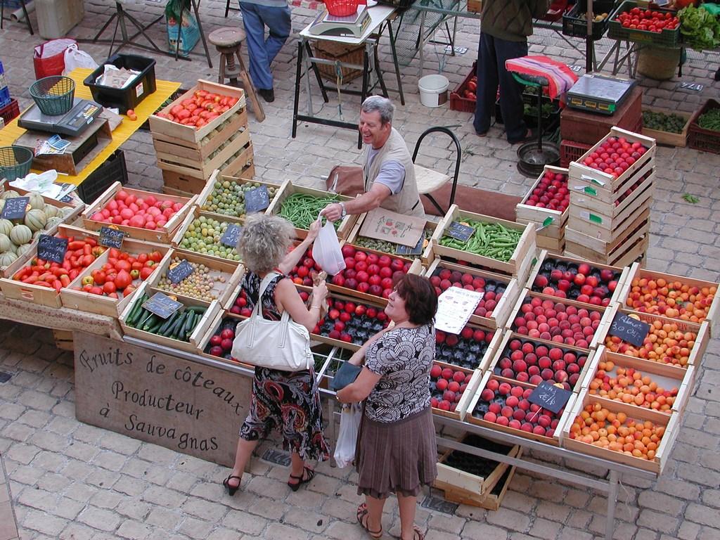 Les marchés, aux spécialités du Lot-et-Garonne - Crédit : CDT Lot-et-Garonne
