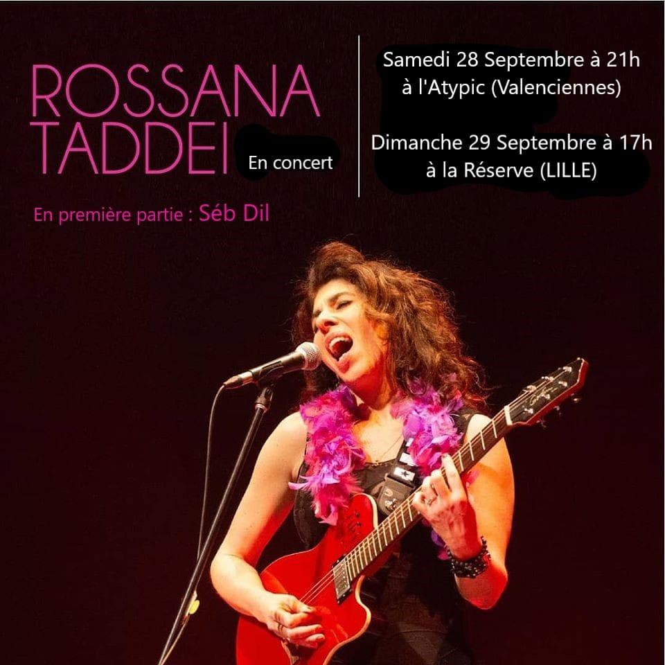 Concierto con Rossana Taddei