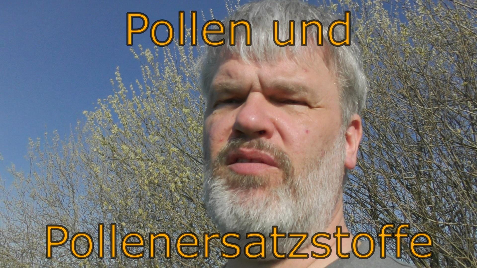 Pollen und Pollenersatzstoffe