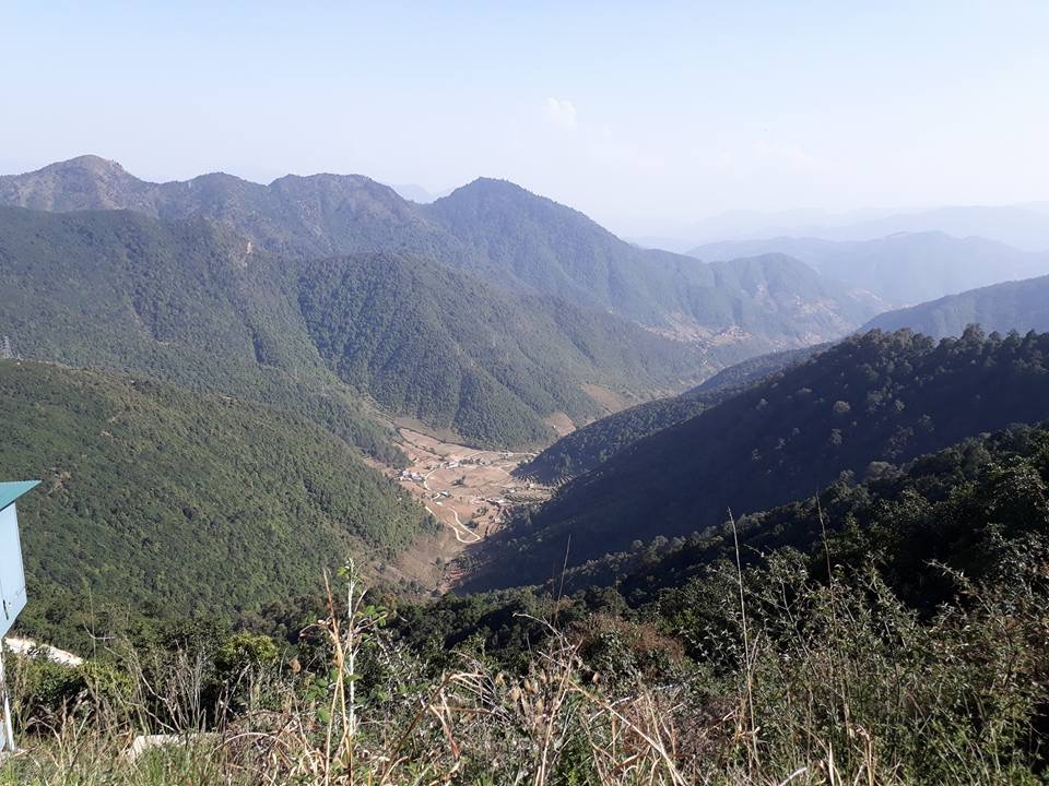 view to thankot