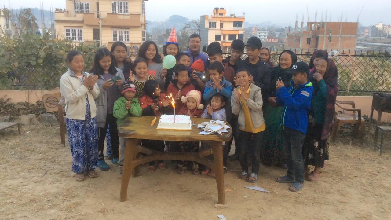 Geburtstagsfeier für alle
