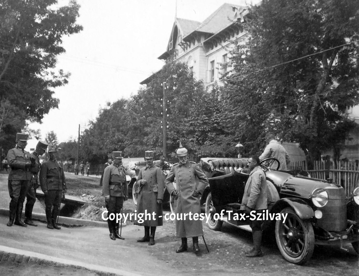 25. September 1915, Besuch Erzherzog Karl in Opcina