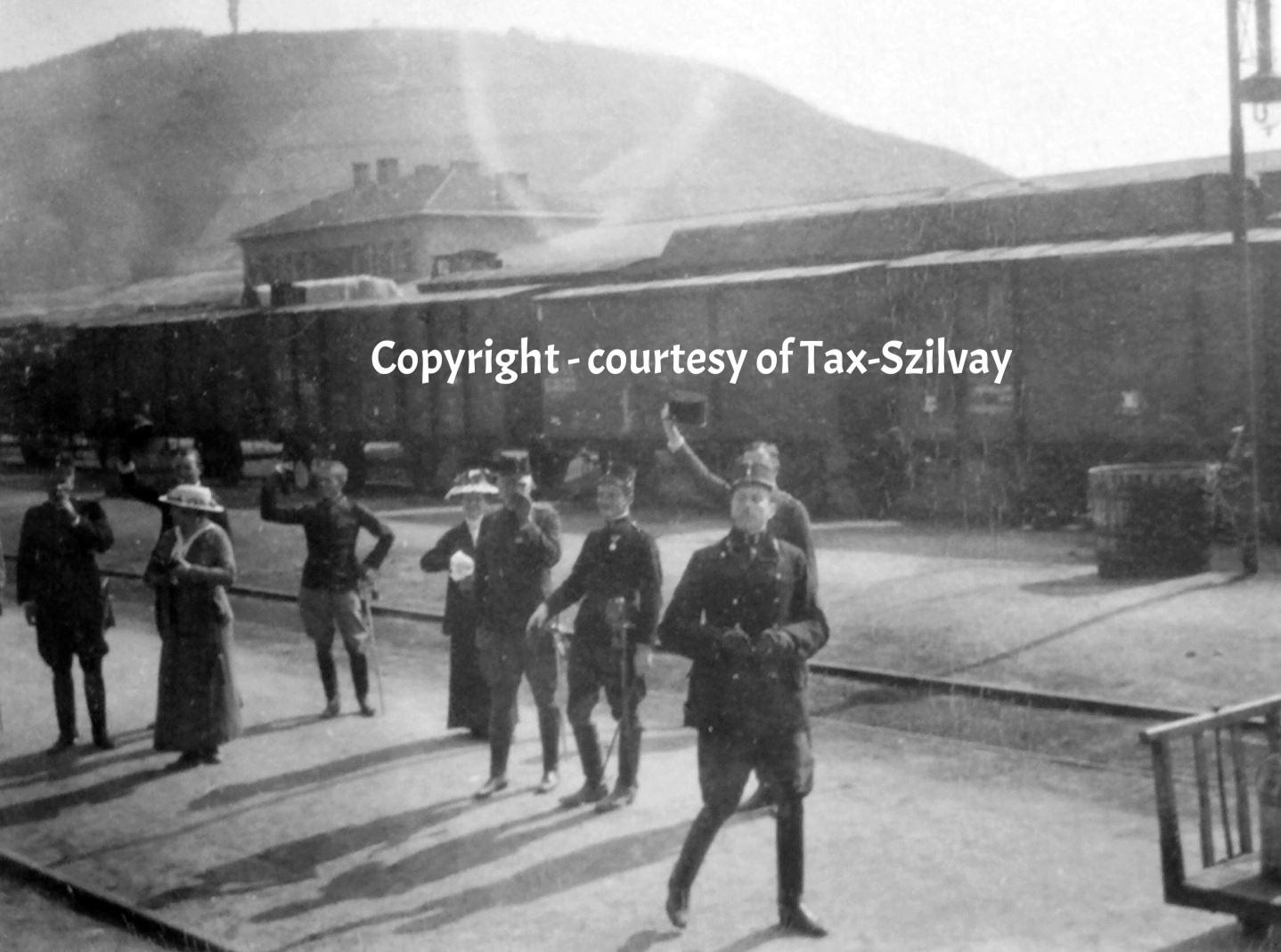 01. Oktober 1915, Bahnhof Görz, Rückverlegung nach Galizien