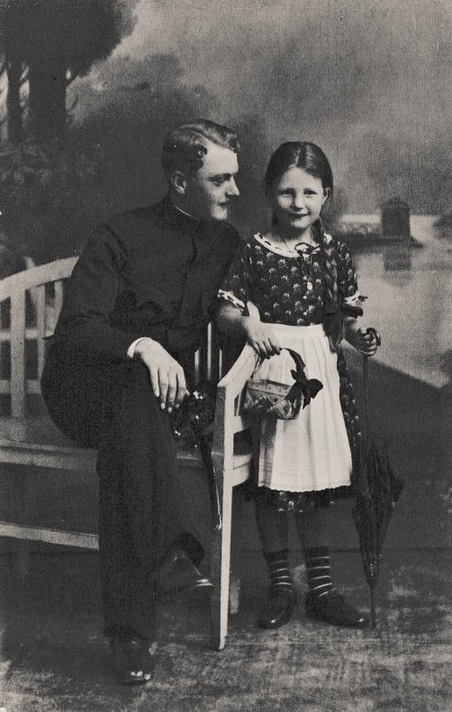 Albert mit Christl