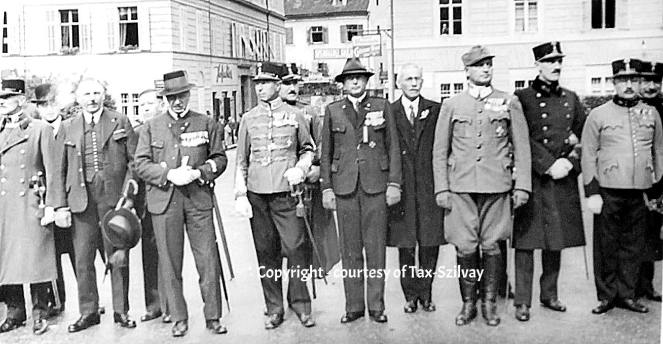 Veteranentreffen in Graz, verm. in den 1930ern