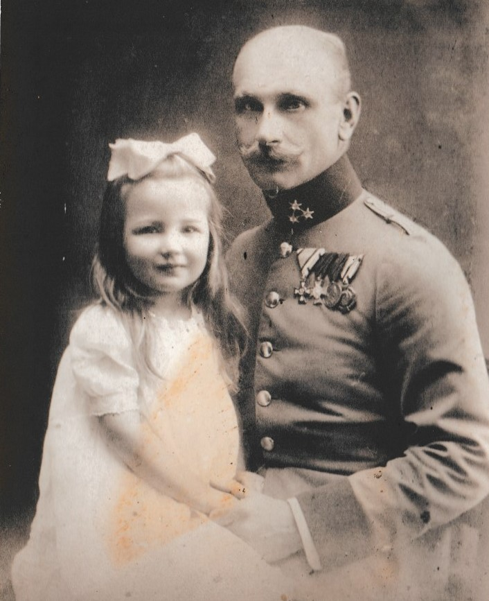Adalbert mit Christl