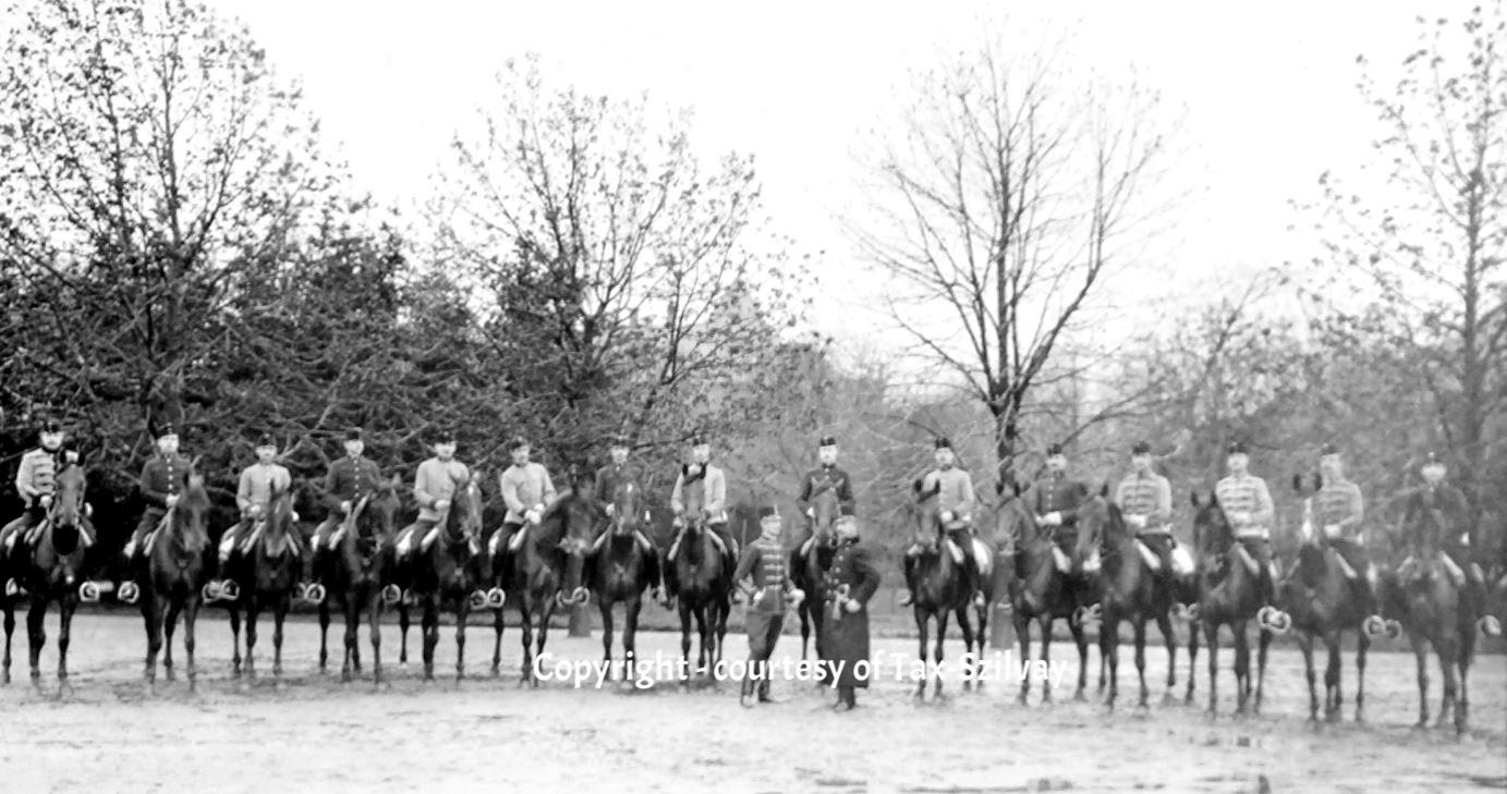 Kurs am Reitlehrer-Institut, Wien, verm. vor 1914