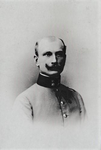 Als Leutnant Jänner 1905