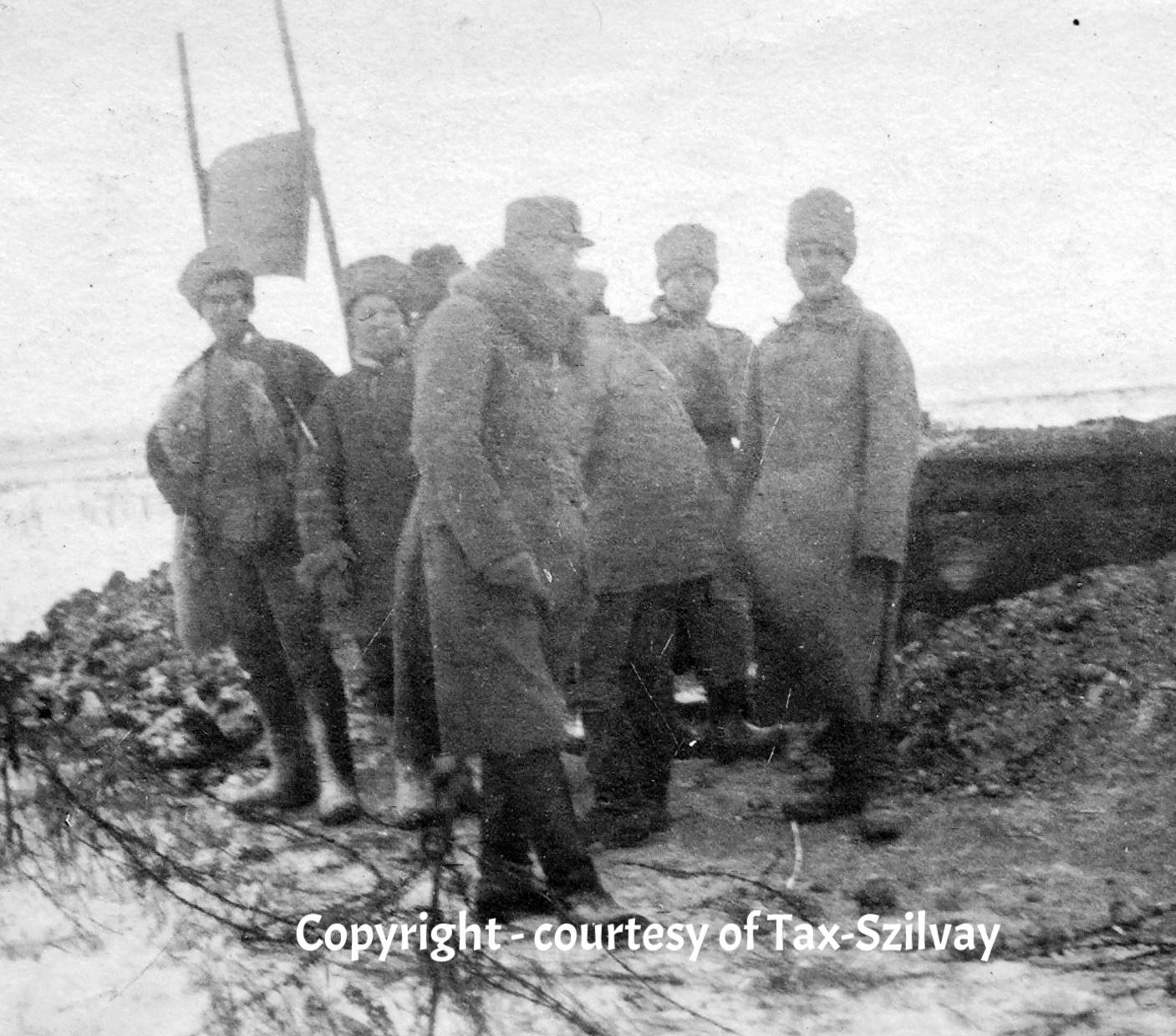 verm. Russische Unterhändler, Frühjahr 1917
