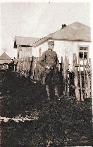 Sohn Albert als Fähnrich, Jänner 1918