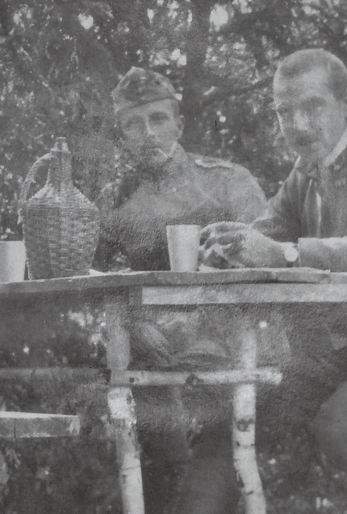Erich mit Sulkowski.