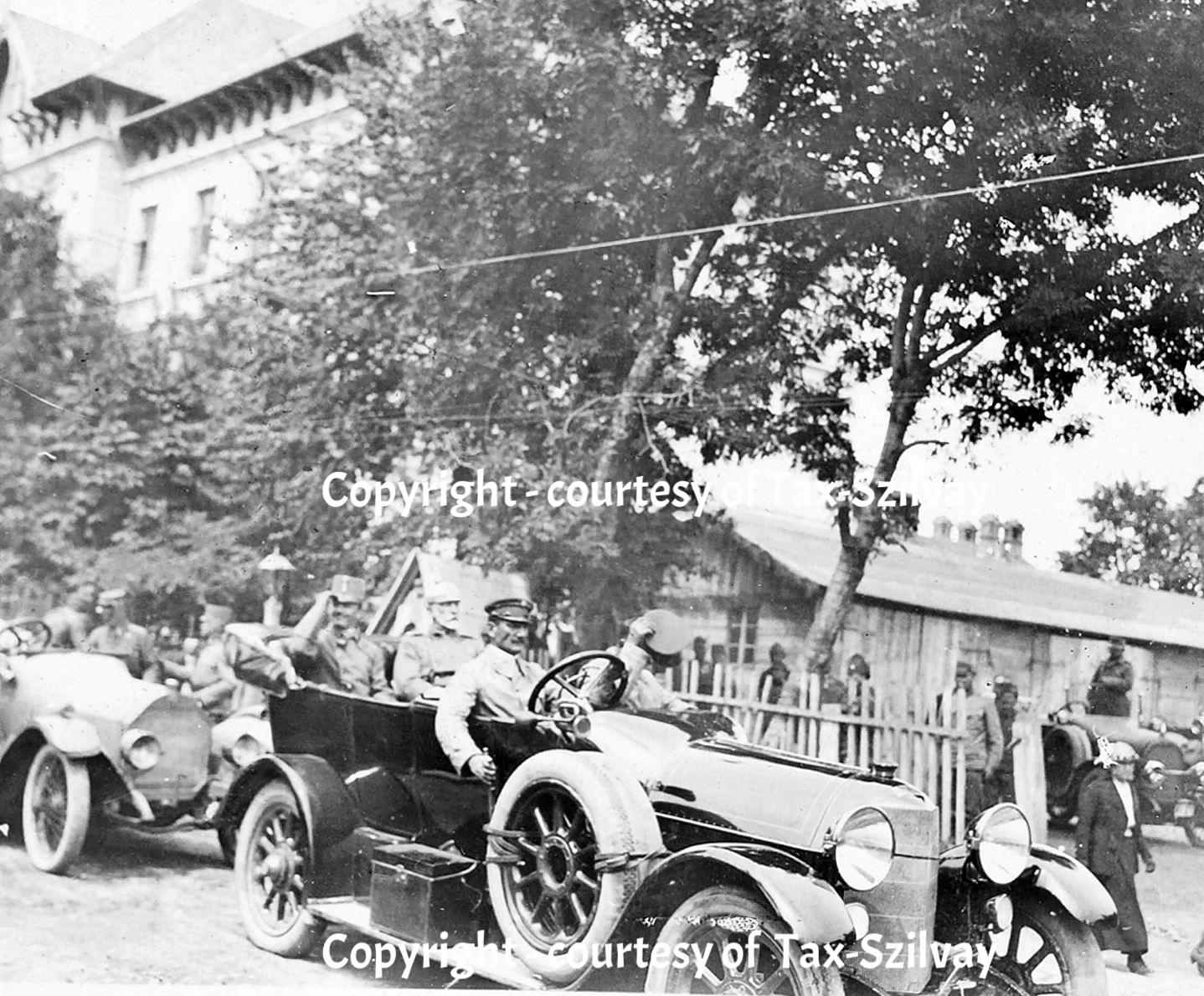 25. September 1915, Besuch Erzherzog Karl in Opcina