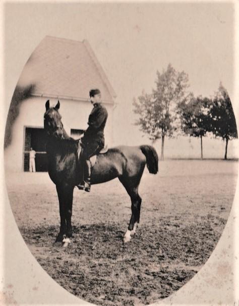 Adalbert als Kadett 1891