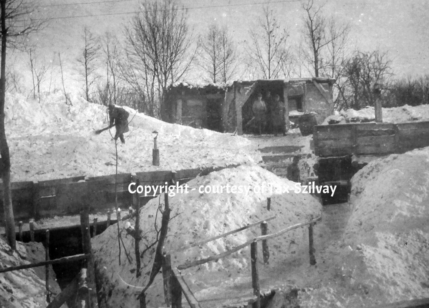 Winter 1916, Strypafront/Dnestr
