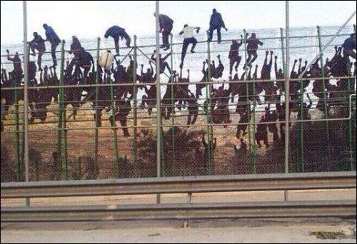 En julio de 2018, 600 migrantes ilegales entraron a Ceuta, posesión española en África, atacando a la policía con sprays lanzallamas, ácido, cal viva y excrementos. Fueron acogidos como refugiados, en una extraña decisión del gobierno izquierdista.