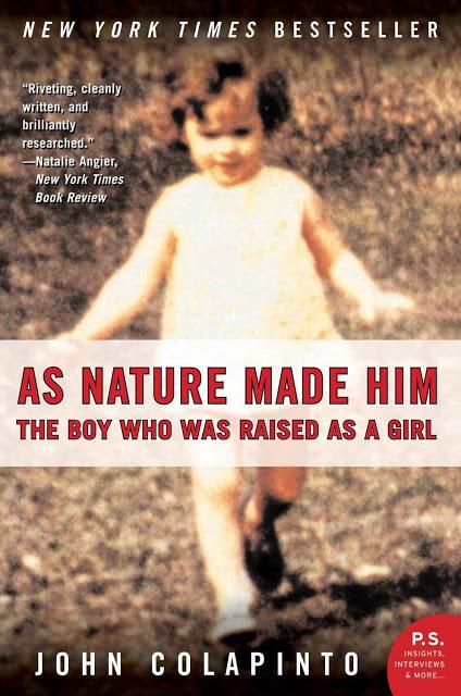 """Tal como la naturaleza lo hizo"", libro que contó la historia de David Reimer."