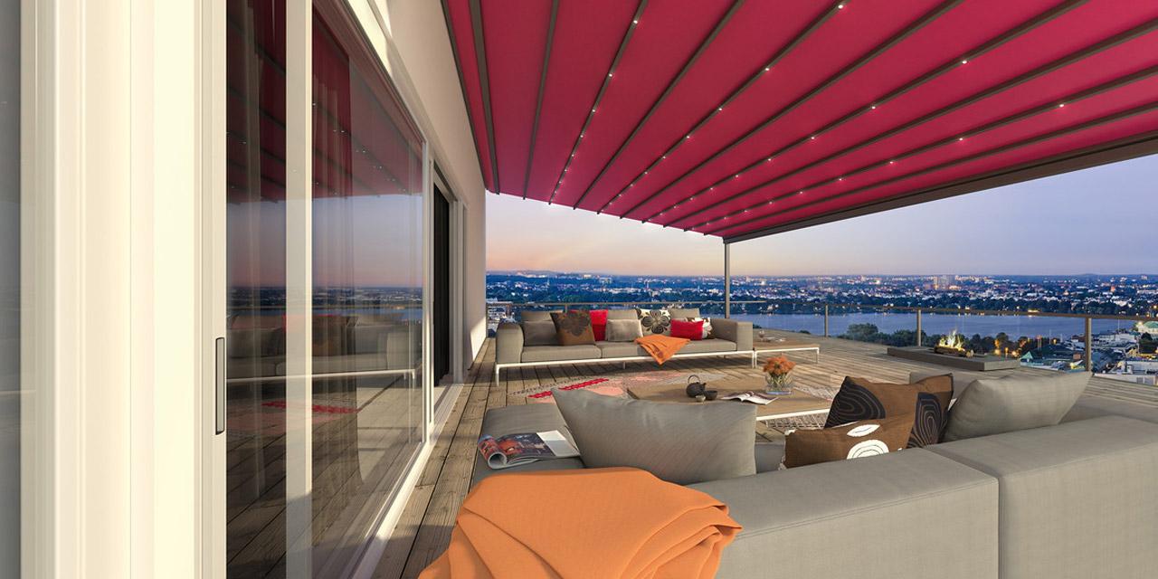 Terrassendächer «PergoTex»