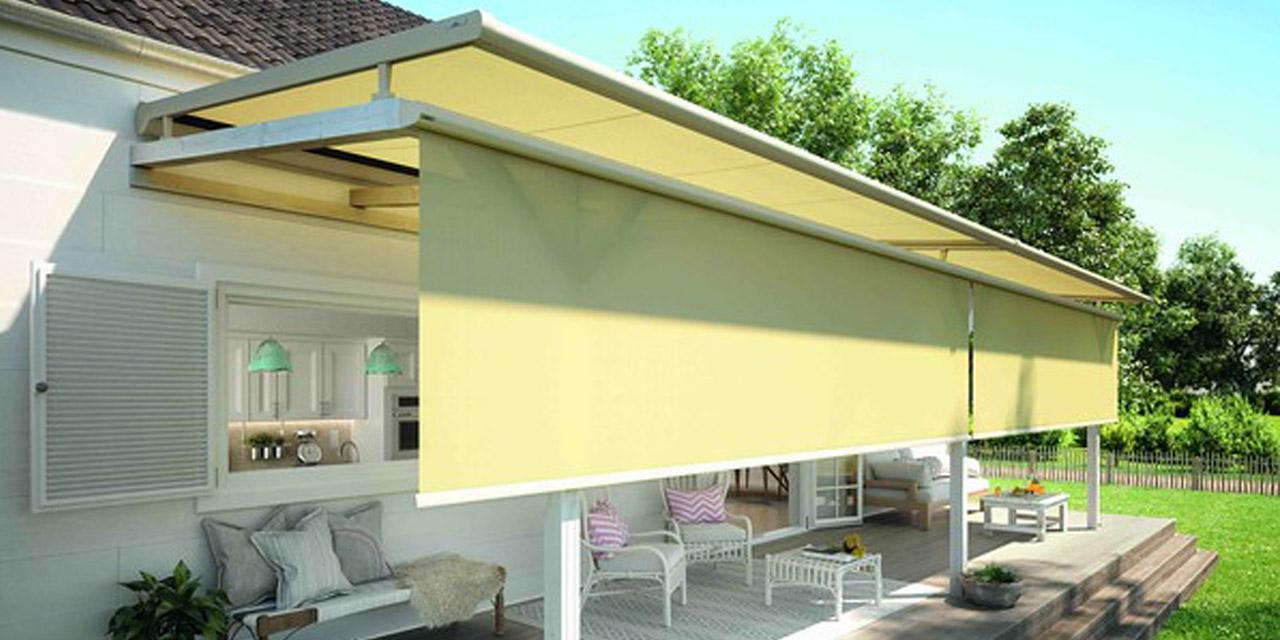 Terrassendach-Erweiterung «VertiTex»