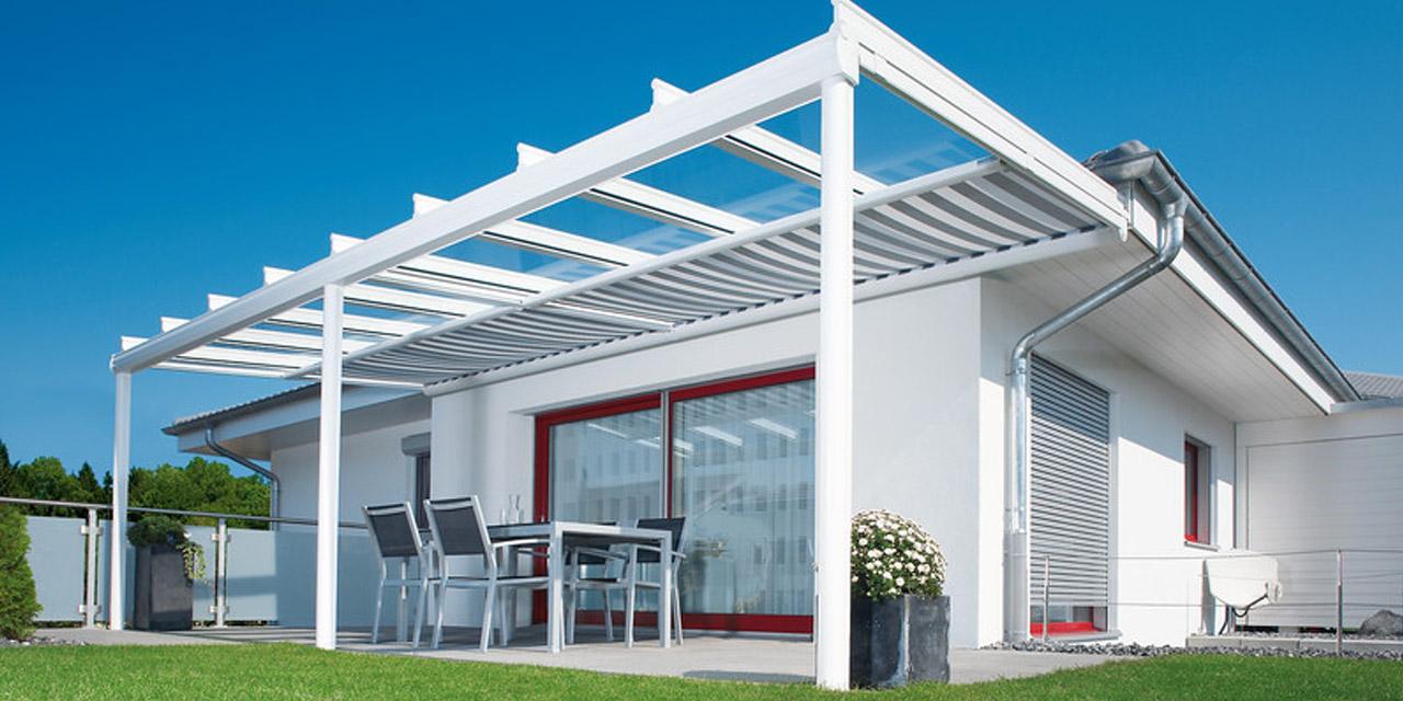 Glas-Terrassendach «Terrazza»