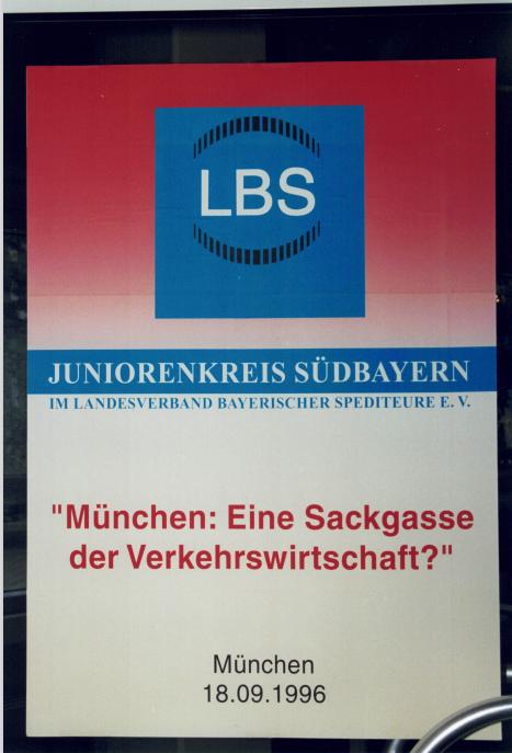 """25 Jahre """"München: Eine Sackgasse der Verkehrswirtschaft?"""""""