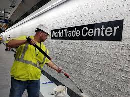auch das WTC war gegen Graffiti geschützt