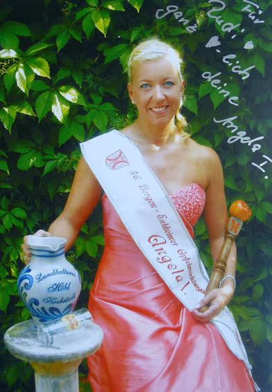 Angela I. Apfelweinkönigin 2010/2011