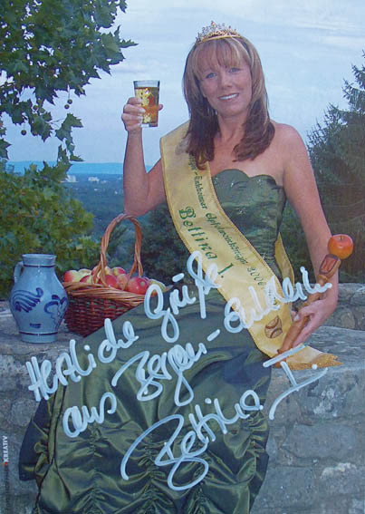 Bettina I. Apfelweinkönigin 2006/2007