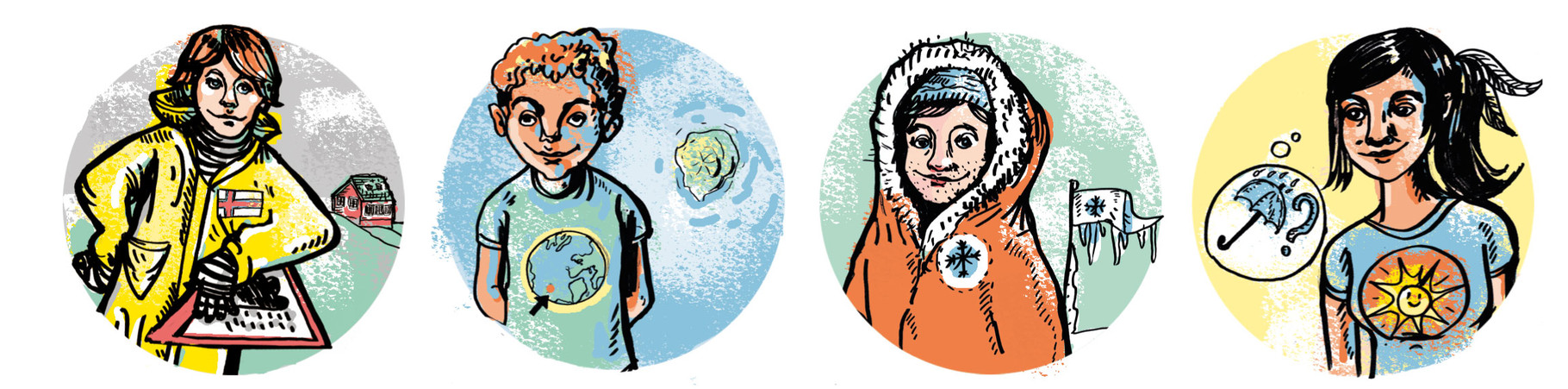 Extremes Klima, Illustration Leitartikel energy forum