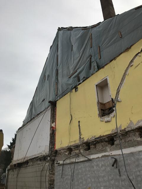 Die Trennung von den anderen Häusern verlief problemlos