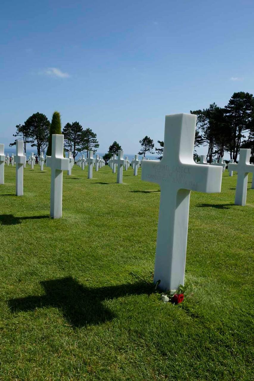 über 9'000 Kreuze gefallener Soldaten