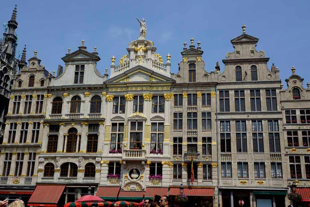 Innenstadt Brüssel