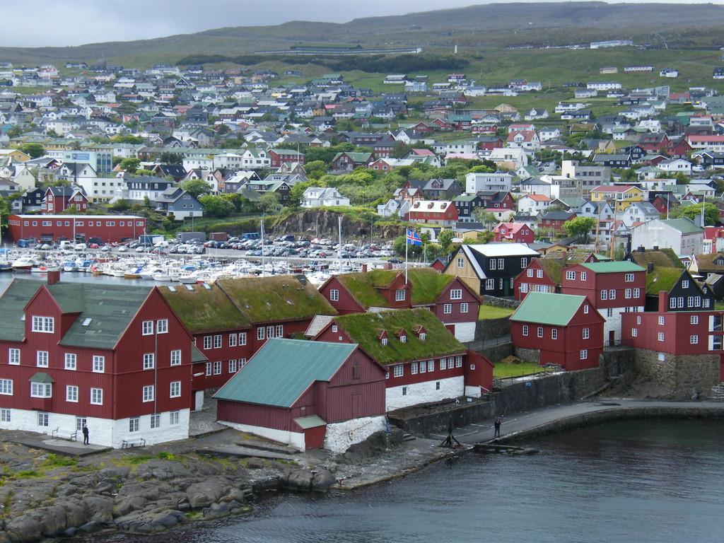 la magnifique ville de Torshavn