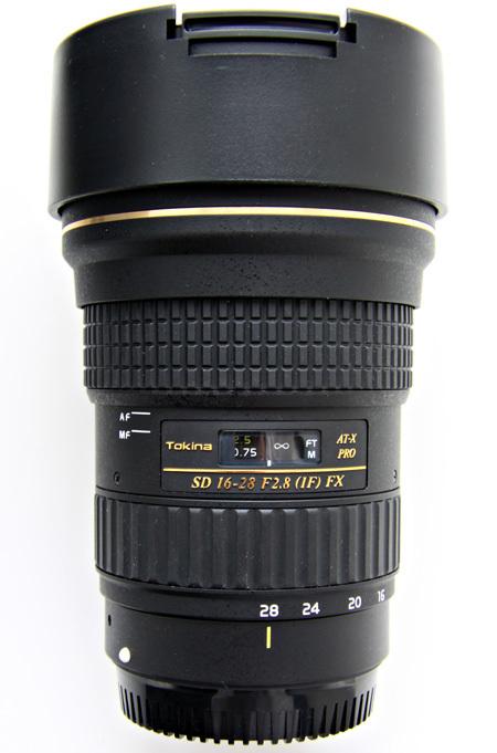 Tokina AT-X 16-28/2.8 Pro FX