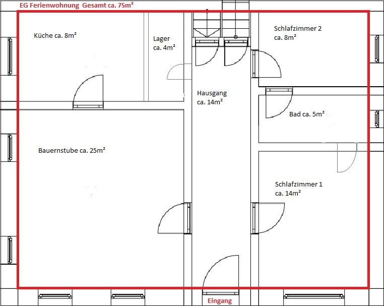 Wohnungsplan  Wohnungsplan - haus-ruitelspitzblicks Webseite!