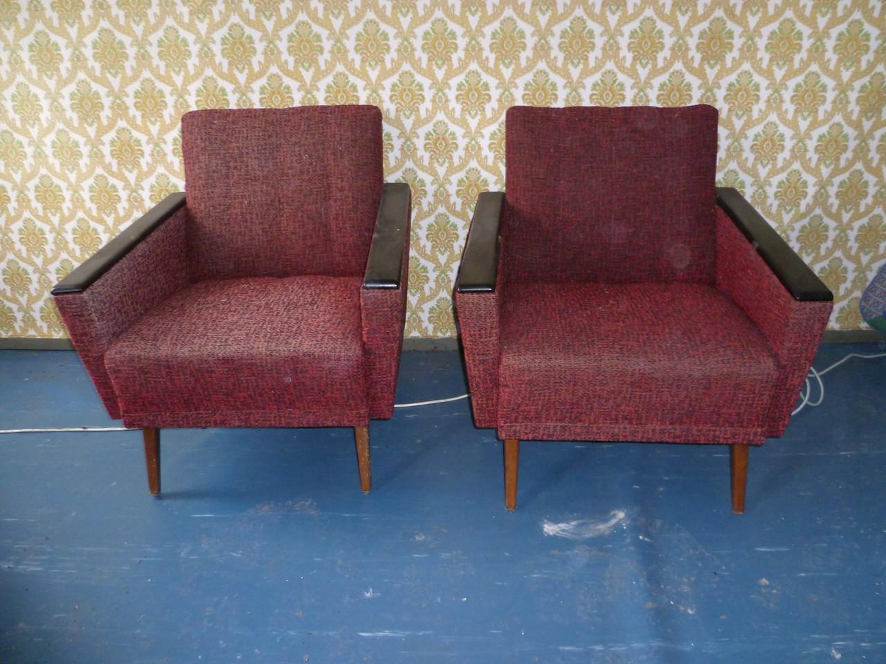60ziger jahre sofa und sessel oldtimer bleckede. Black Bedroom Furniture Sets. Home Design Ideas