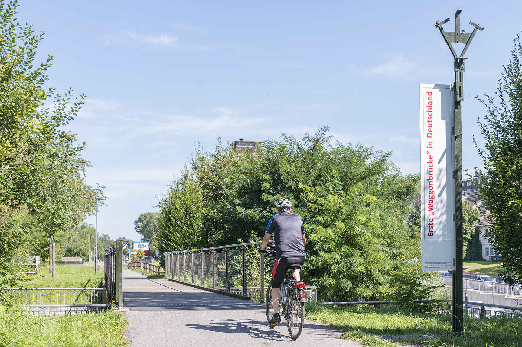 Niederbergbahn, Alleenradweg