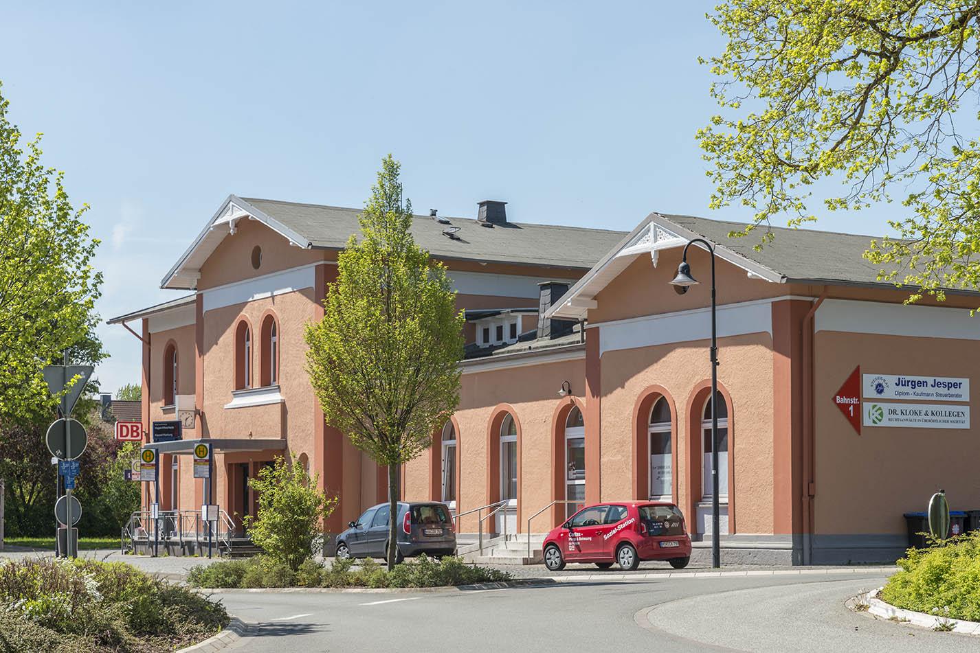 Marsberg, Empfangsgebäude
