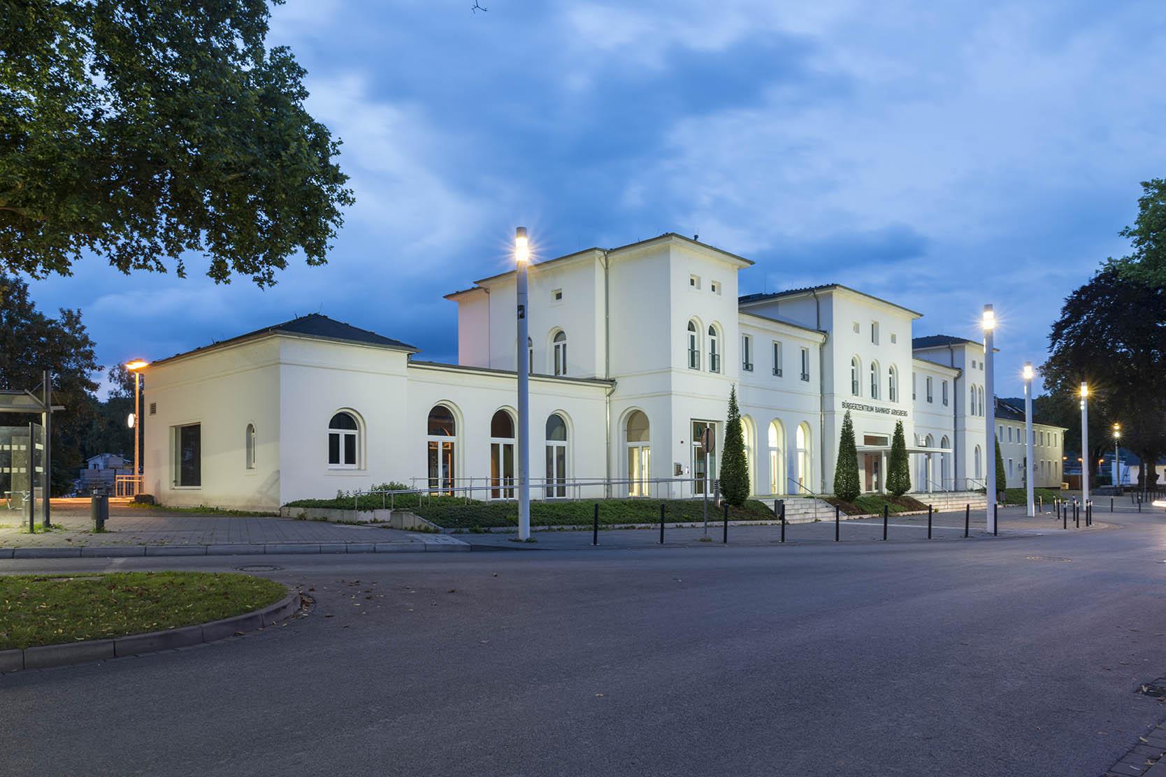 Arnsberg, Empfangsgebäude