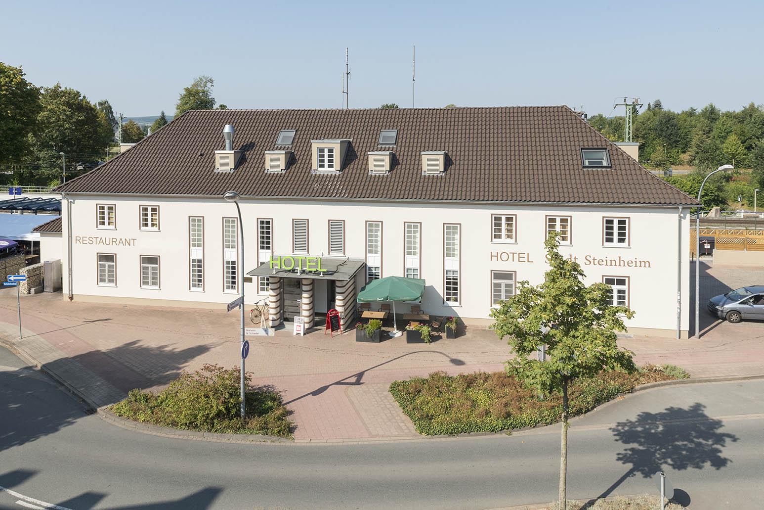 Steinheim (Westf.), Empfangsgebäude