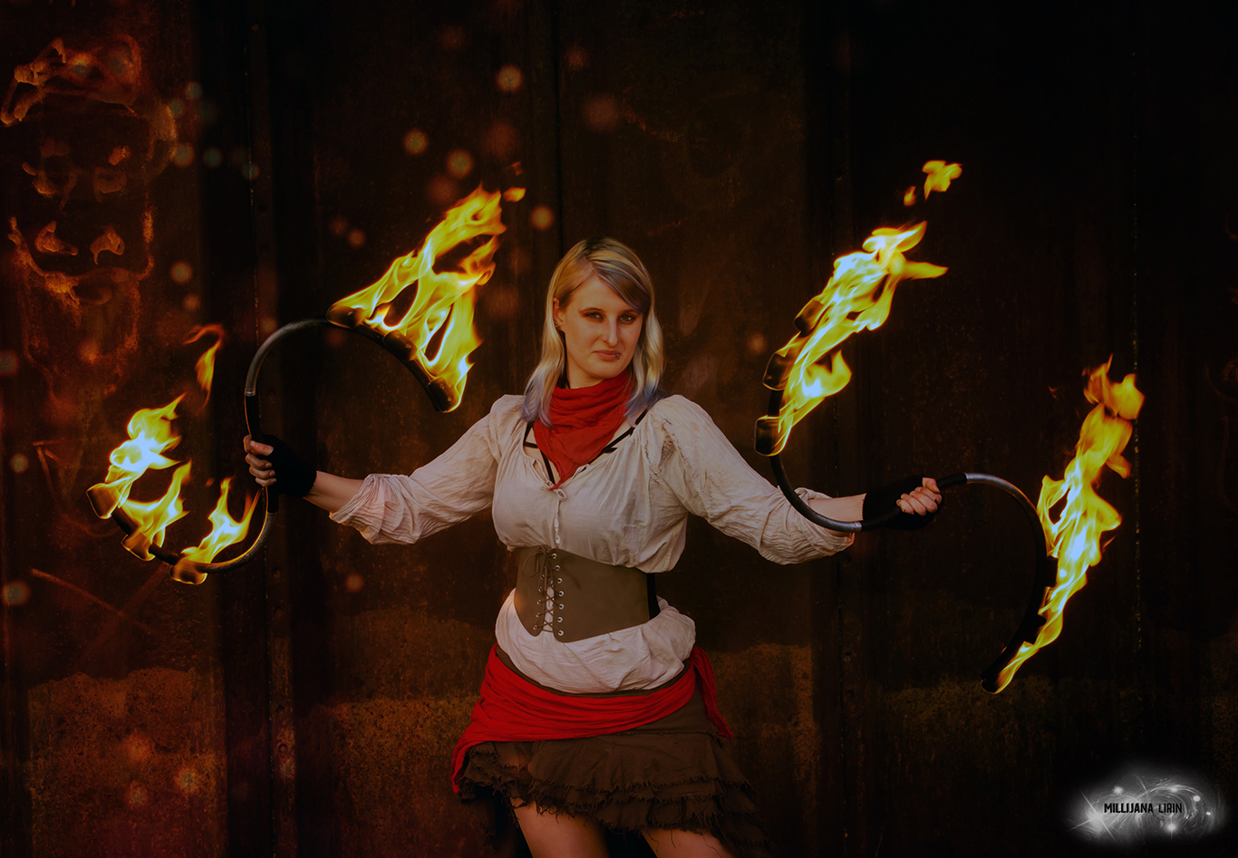 Feuer SS-Stab by Millijana Lirin