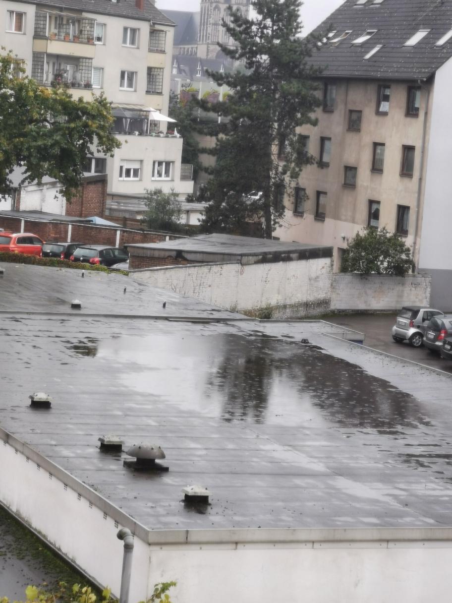 Da hat man frei und es regnet...