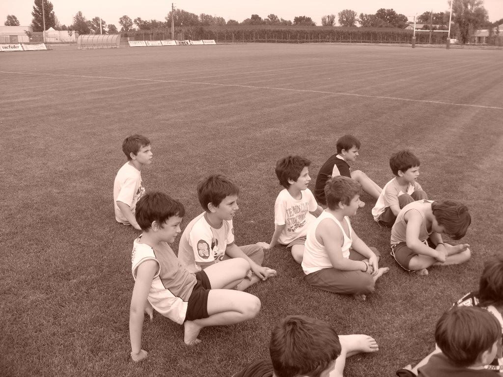 Corso RUGBY 2009 Gruppo Grandi con Federico Freddi c/o campo Collegarola