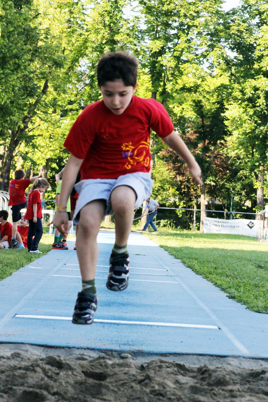 Corso atletica - salto in lungo - 2014