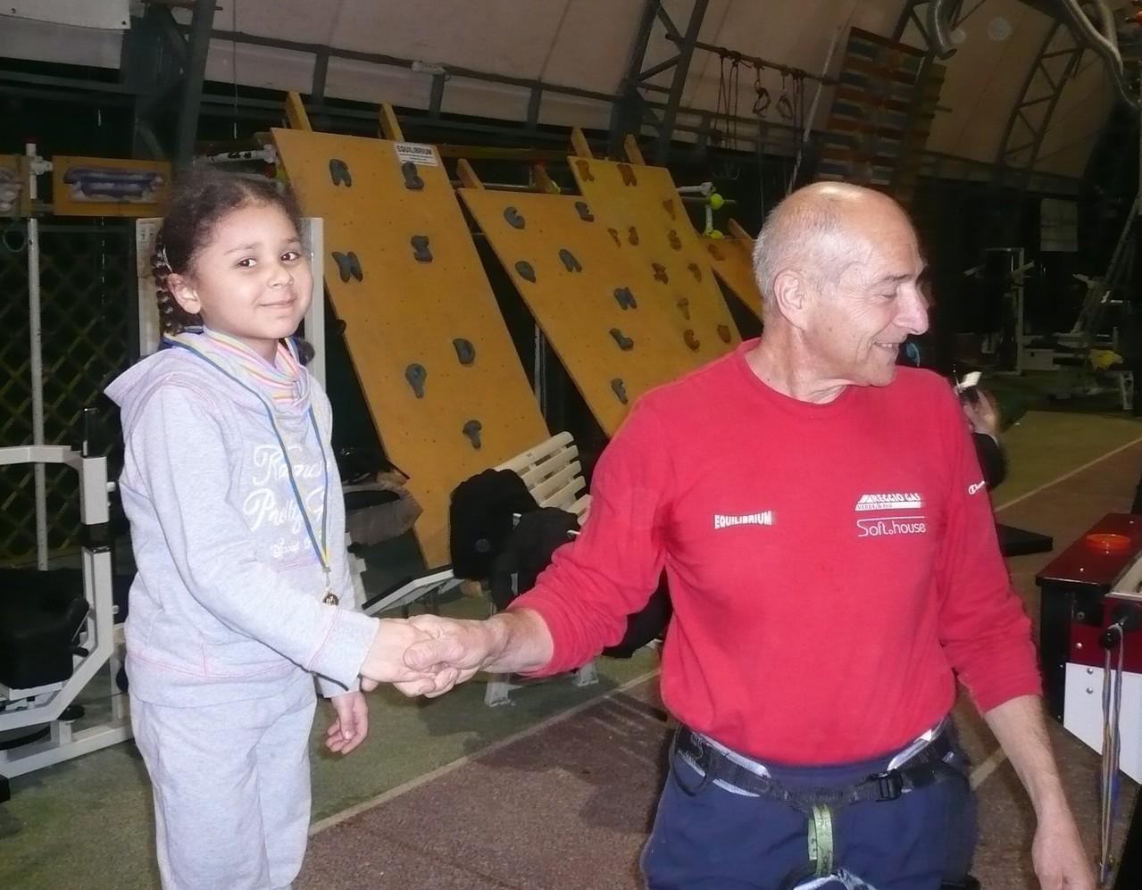 Corso arrampicata gen- feb 2010 con Bruno Furia - Premiazione