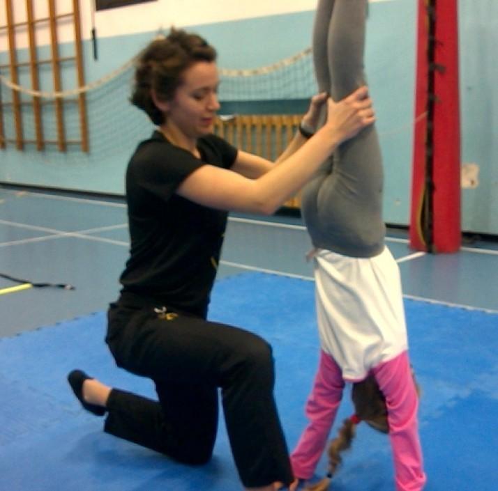 Corso pre-acrobatica con Francesca   ottobre-dicembre 2014