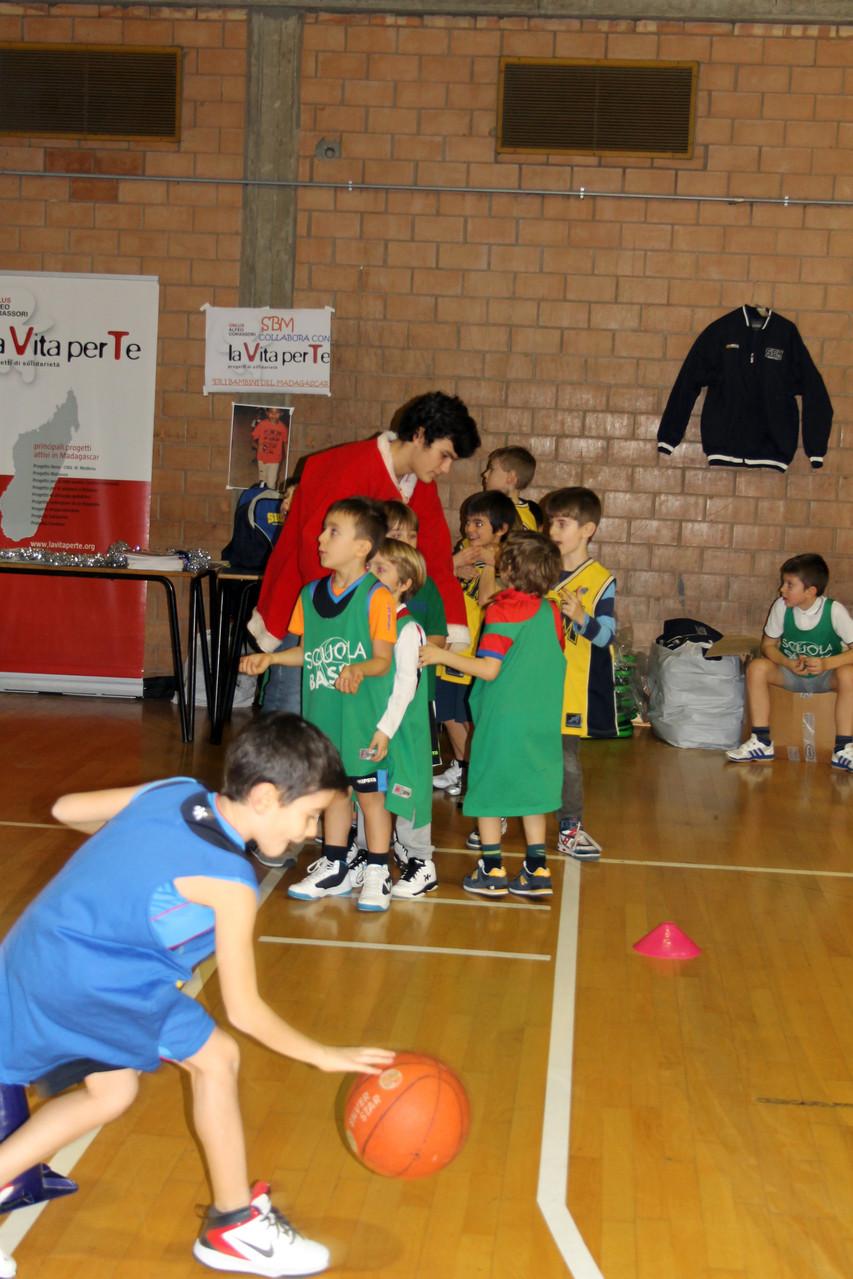 Corso Basket - Festa di natale 2013