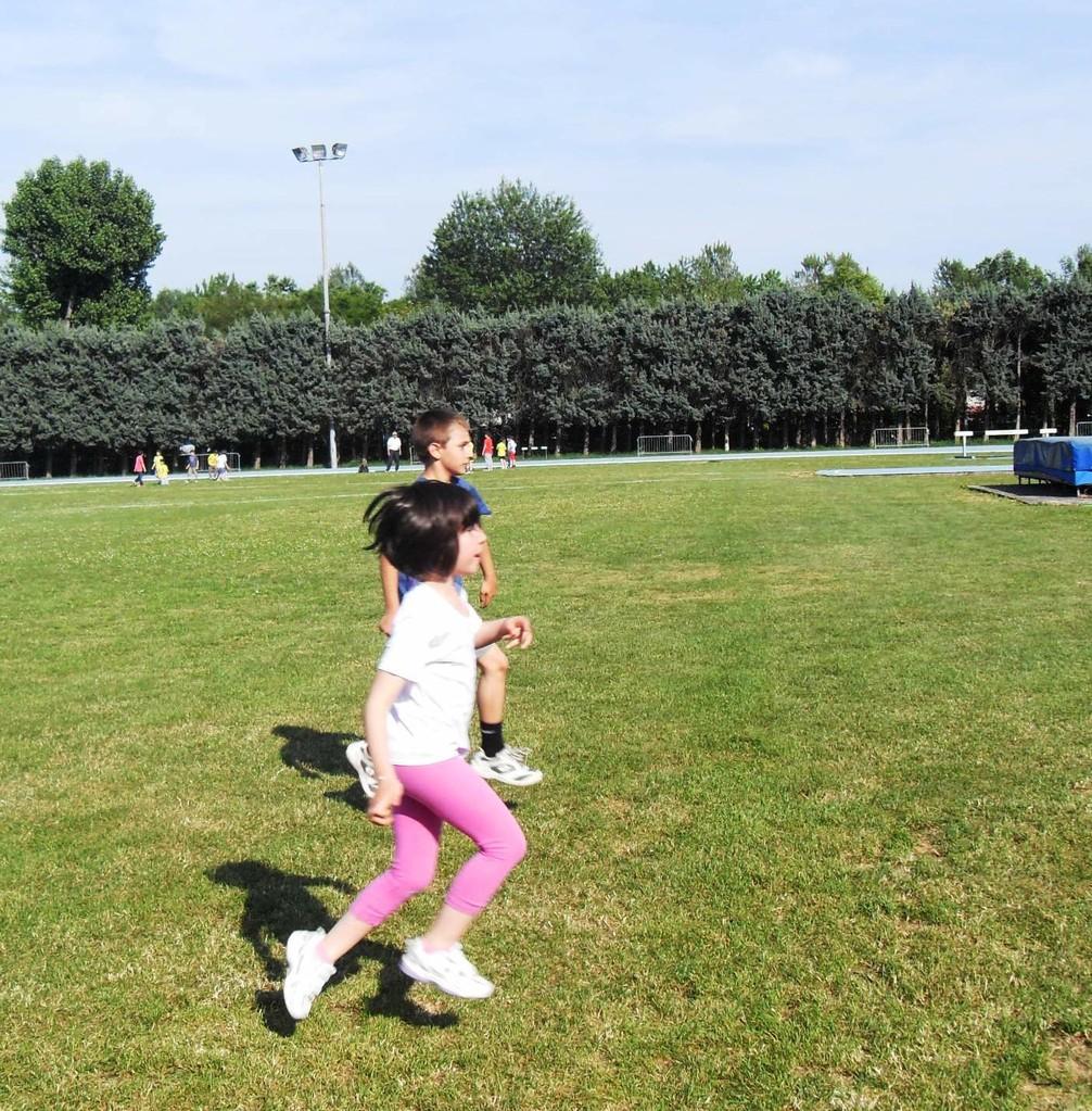 Campo scuola maggio 2011 - riscaldamento